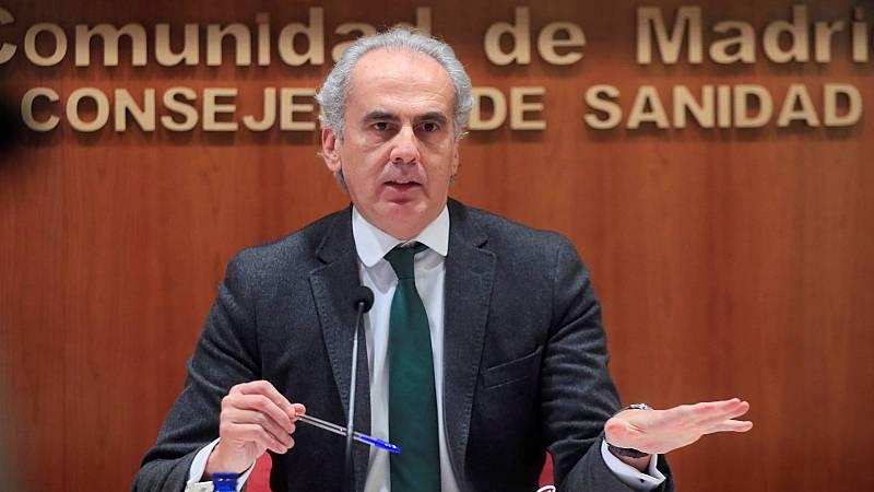 El consejero de Sanidad, Enrique Ruiz Escudero, será el 'número dos' de Ayuso