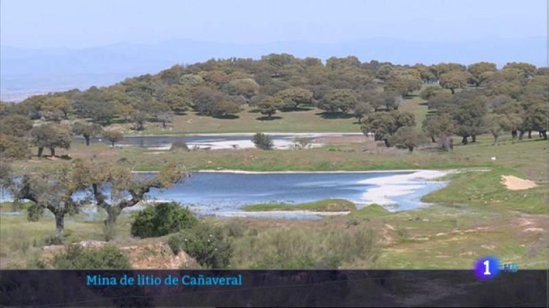 Mina de litio en Cañaveral - 26/03/2021
