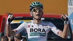 Así fue la llegada de la etapa 5 de la Volta a Catalunya