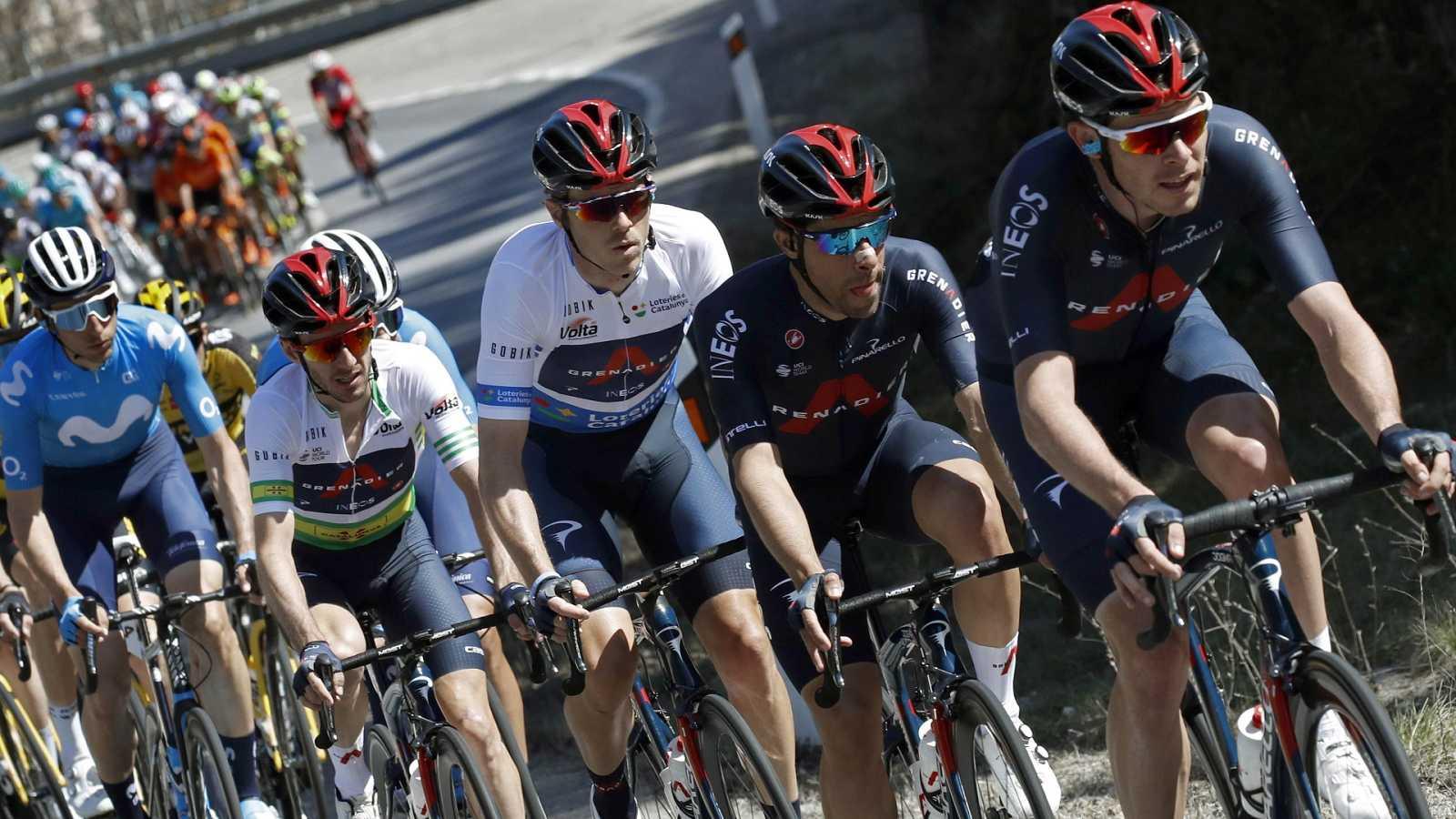 Ciclismo - Volta Cataluña. 5ª etapa: La Pobla de Segur - Manresa - ver ahora