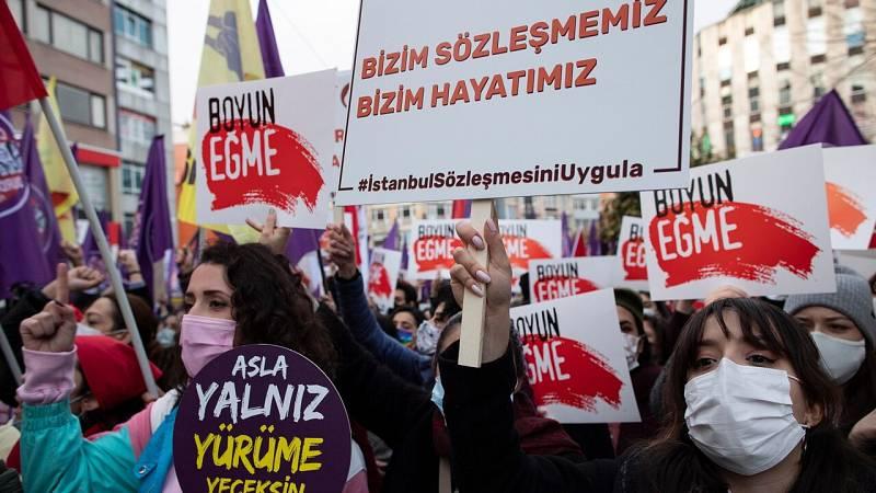 Erdogan confirma la salida de Turquia del convenio de Estambul, el tratado que combate la violencia machista