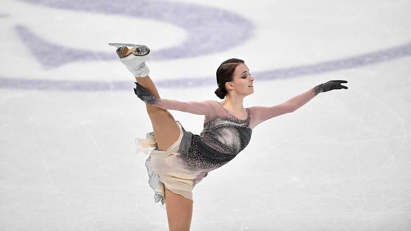 La rusa Anna Shcherbakova se corona en Estocolmo