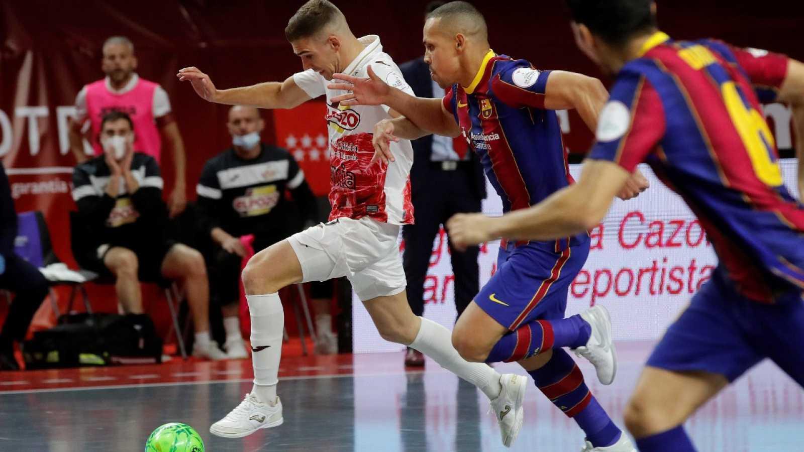 Resumen del Barça-El Pozo, de cuartos de final de la Copa de España de Futsal