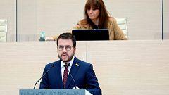 Aragonès no logra ser presidente de la Generalitat en primera votación
