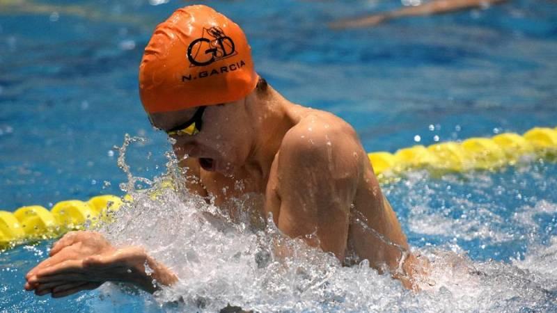 Nico García se hace un hueco entre los mejores de la piscina española