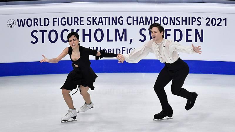 Sara Hurtado y Kirill Jalyavin, undécimos en el Mundial de Estocolmo
