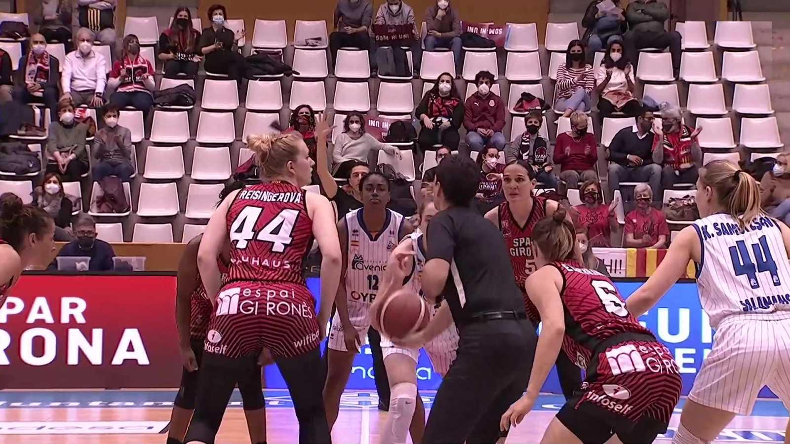 Baloncesto - Liga femenina Endesa. 30ª jornada: Spar Girona - Perfumerías Avenida - ver ahora