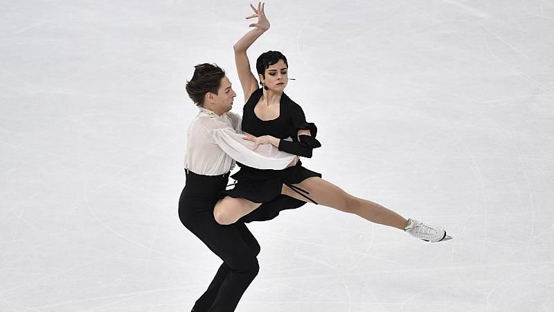 Patinaje artístico - Campeonato del Mundo. Programa libre danza: Actuación pareja española - ver ahora