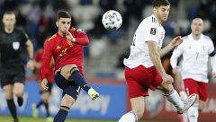 Fútbol - Clasificación Mundial 2022. Partido Georgia - España