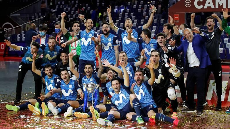 Movistar Inter barre al Barça y gana la Copa de España