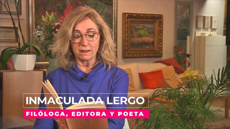 Inmaculada Lergo: una mujer de letras en todos los sentidos