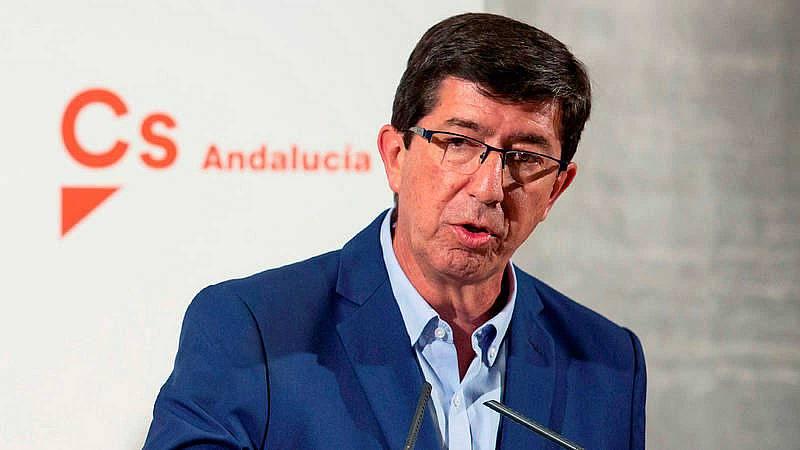 """Juan Marín, vicepresidente de Andalucía por Cs: """"Algunos buscan un sillón al que aferrarse"""""""