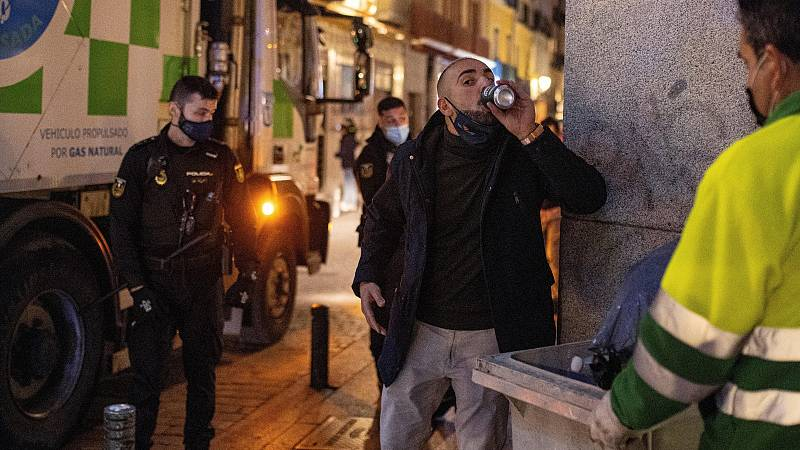 La Policía interviene centenares de fiestas ilegales durante el fin de semana