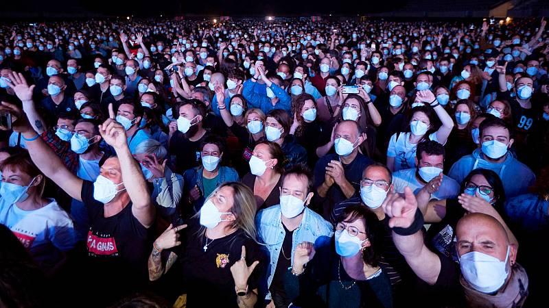 El concierto con 5.000 personas de público servirá para testar los eventos multitudinarios en pandemia