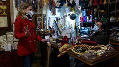 Aquí la Tierra - Negocios centenarios: así se mantiene viva una cordonería sevillana