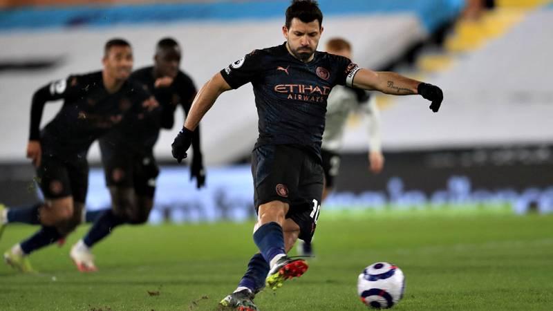 El 'Kun' Agüero anuncia que no continuará en el Manchester City y apunta al Barça