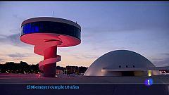 Oscar Niemeyer calificó el Centro Cultural de Avilés como la obra más importante fuera de Brasil