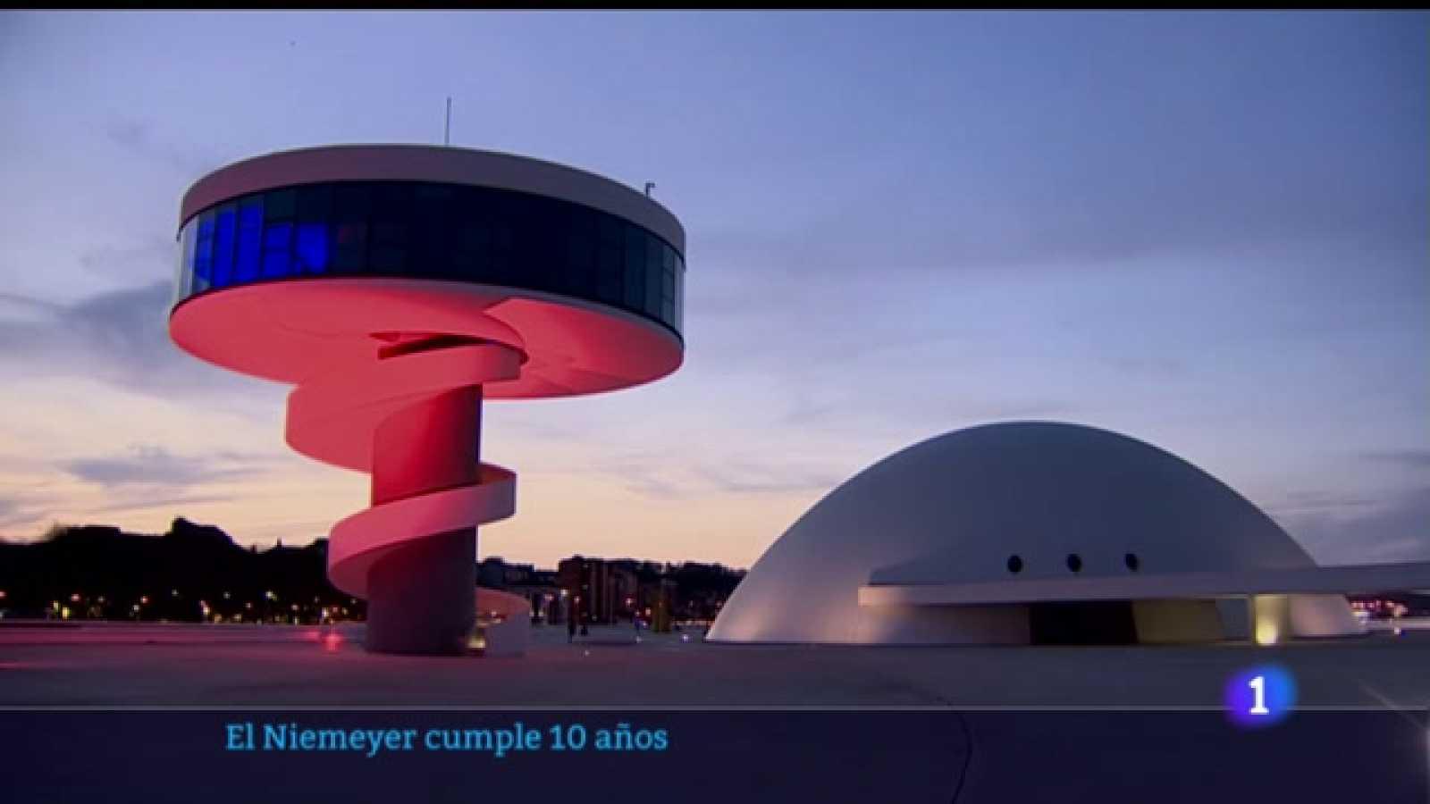 Oscar Niemeyer calificó el Centro Cultural de Aviles como la obra más importante fuera de Brasil
