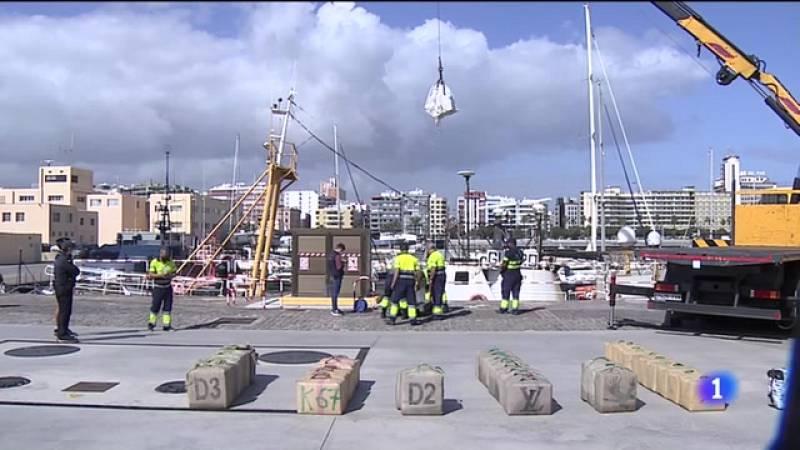 Importante operación antidroga en aguas de Gran Canaria