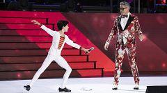 Jorge enseña a bailar a Boris Izaguirre