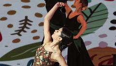 Nerea rinde homenaje a la Escuela Bolera en la semifinal