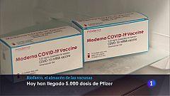 Almacén farmaceútico de Riofarco que recibe, mantiene y distribuye las vacunas a toda La Rioja