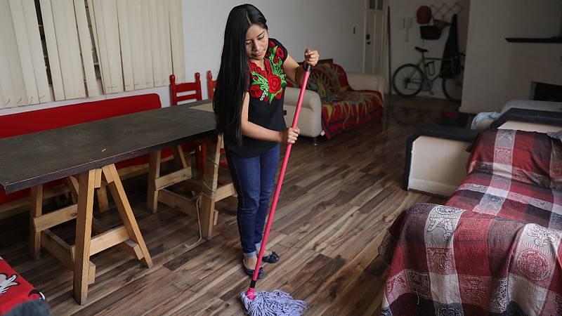 Las trabajadoras del hogar reclaman una mejora en su situación laboral