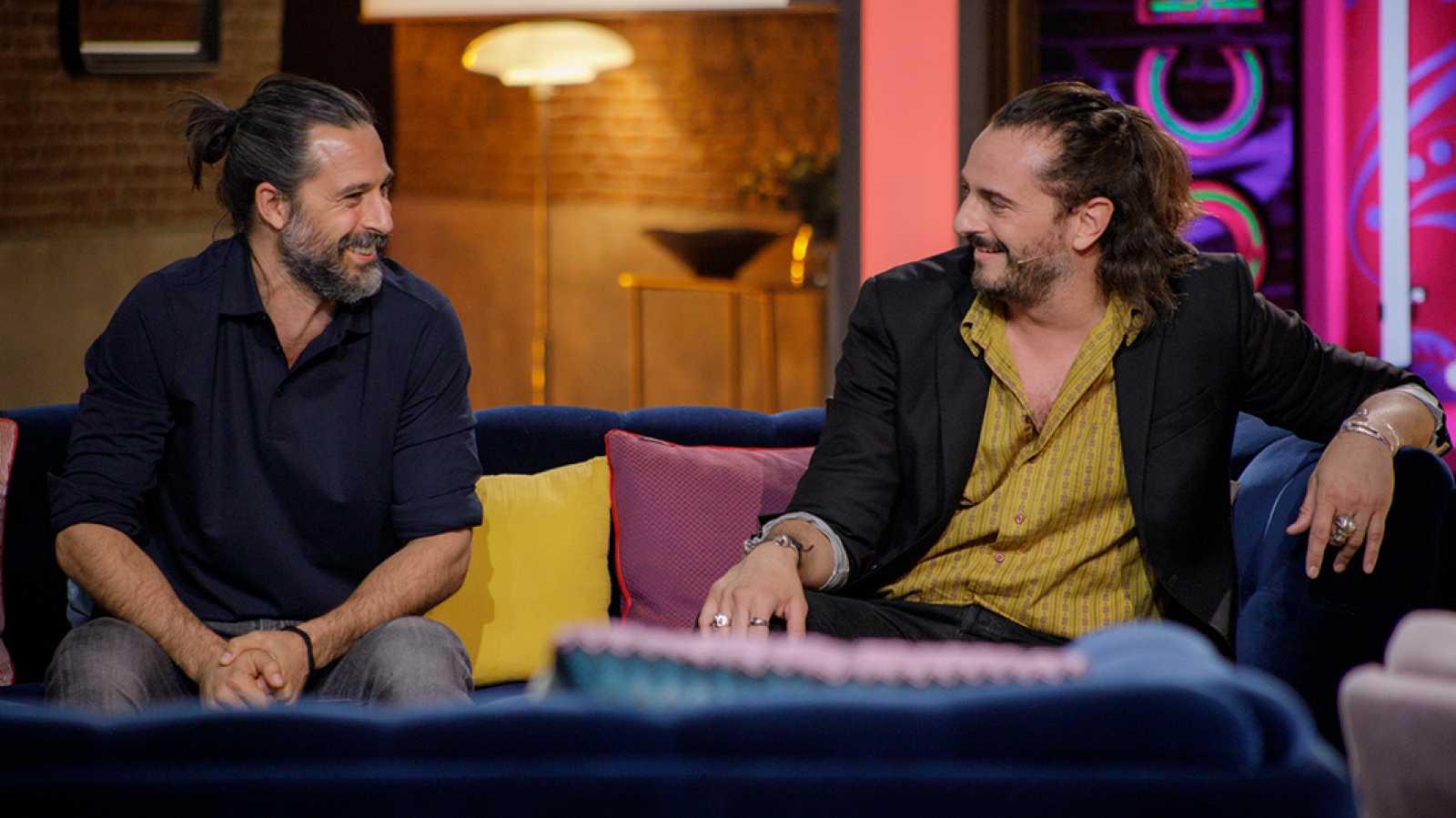 La noche D - Así se conocieron Hugo Silva y Asier Etxeandia