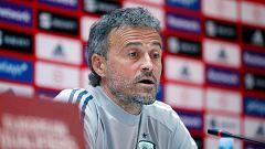 """Luis Enrique: """"No puedo dedicir el once en función de lo que quieran Pepe, Manolo o Lucas"""""""