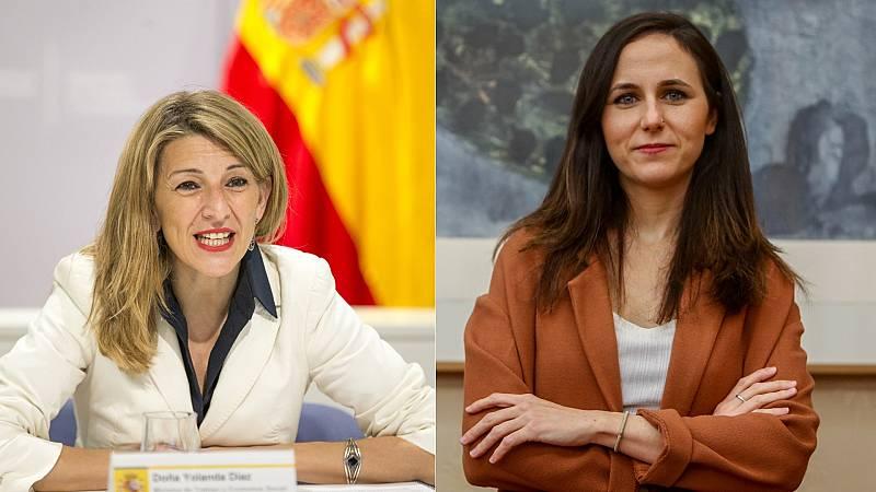 Sánchez confirma a Yolanda Díaz como vicepresidenta tercera y nombra ministra a Ione Belarra