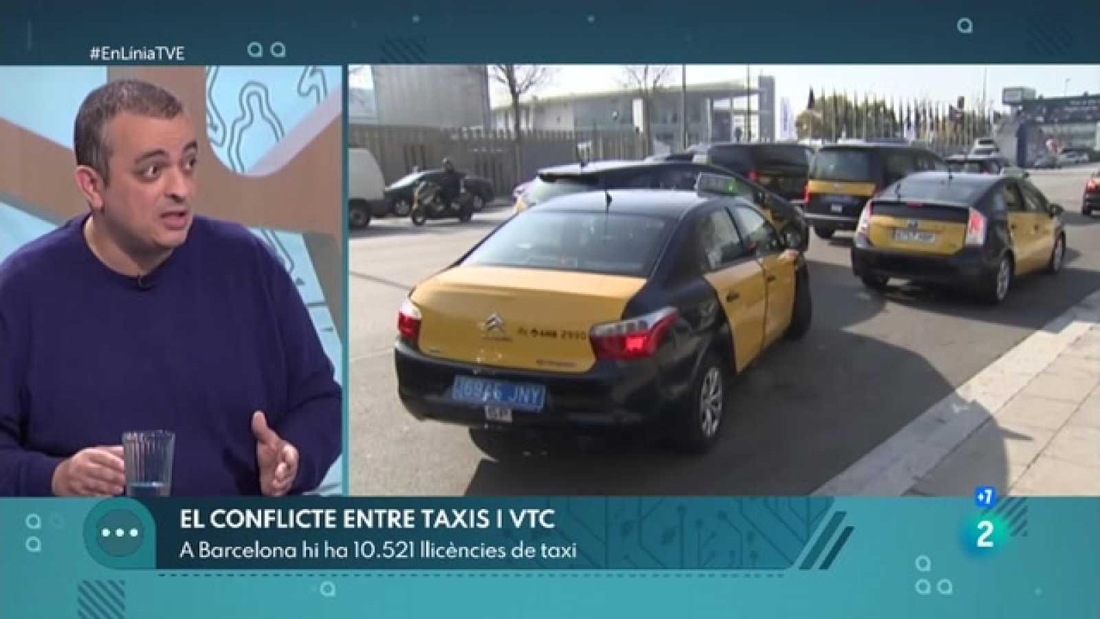 A En Línia parlem del conflicte entre el taxi i els VTC