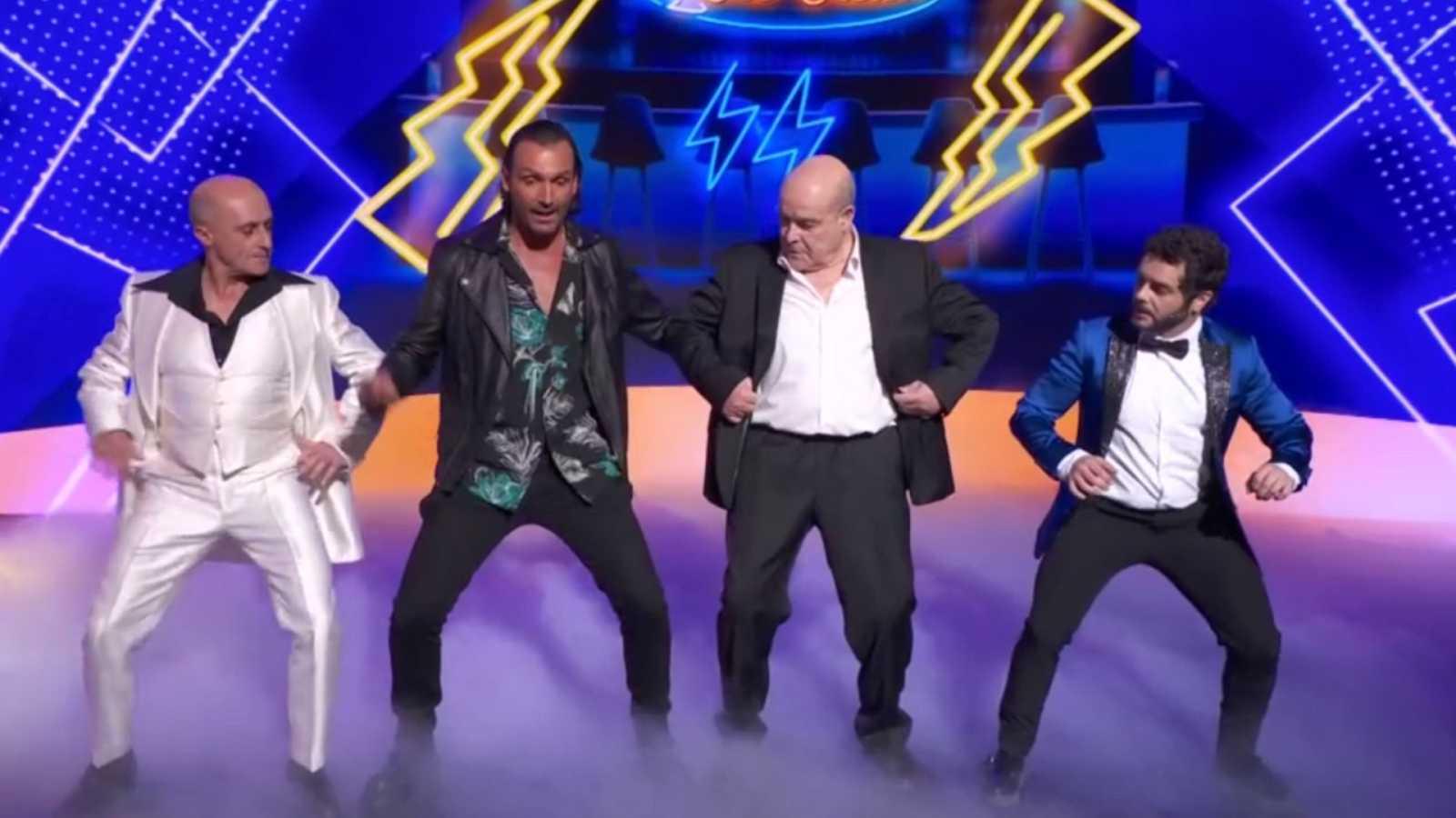 Antonio Resines, mejor bailarín de La noche D