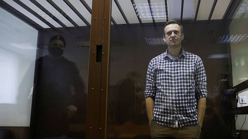 Navalny se declara en huelga de hambre