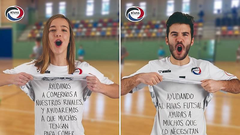 """El Rivas Futsal lanza una campaña para """"ayudar al club a seguir con este proyecto tan bonito y a la gente de Rivas"""""""