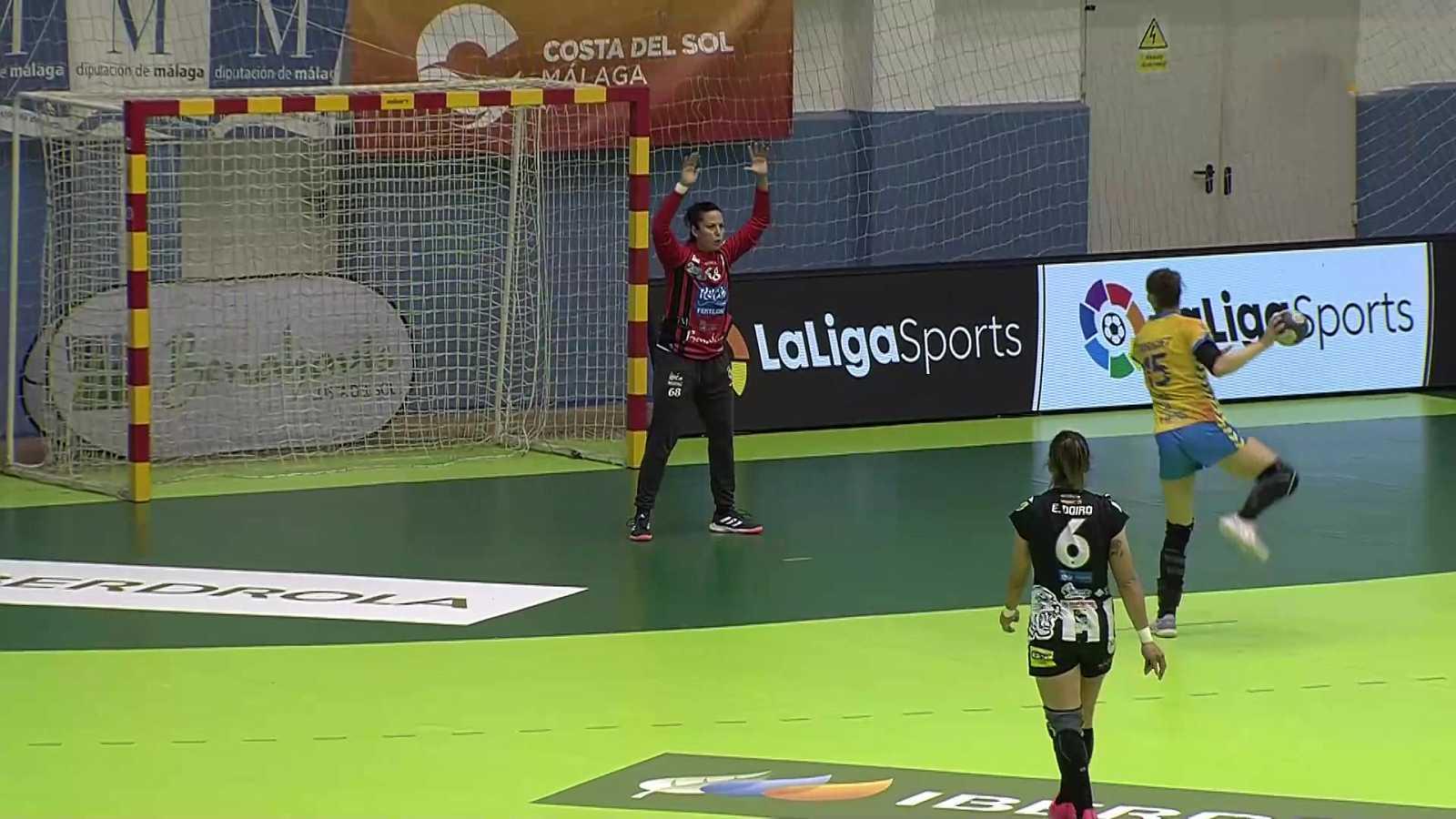 Balonmano - Liga Guerreras Iberdrola. 15ª jornada: Rincón Fertilidad Málaga - Rocasa Gran Canaria - ver ahora