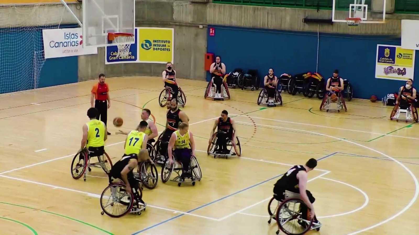 Baloncesto en silla de ruedas - Liga BSR División honor. Resumen jornada 17 - ver ahora