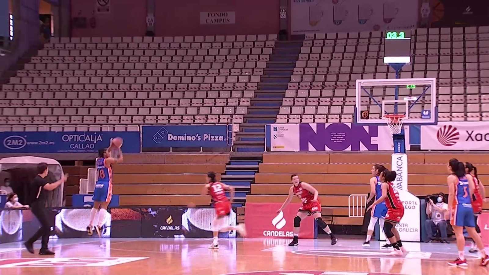 Baloncesto - Liga femenina Endesa. Play off 1/4 Final ida: D.M. Ensino - Valencia B.C - ver ahora