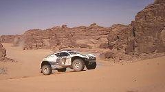 """Automovilismo - Extreme E """"Desert X-Prix"""". Clasificación 3 y 4"""