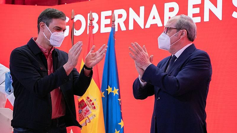 Sánchez vuelve a arropar a Gabiondo en la precampaña madrileña