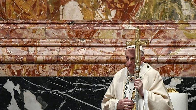 El papa pide compartir las vacunas con los países pobres