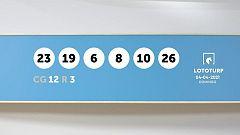 Sorteo de la Lotería Lototurf del 04/04/2021