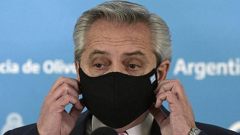 El presidente de Argentina, inmunizado desde febrero con la vacuna rusa Sputnik, positivo por coronavirus