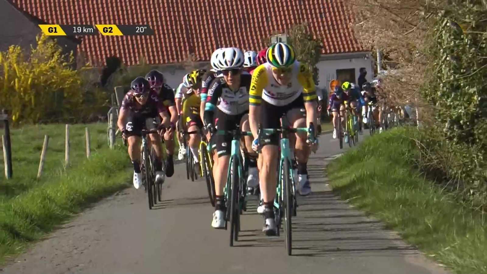 Ciclismo - Tour de Flandes. Carrera femenina - ver ahora