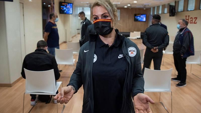 Lydia Valentín, baja de última hora para el Europeo por una gastroenteritis