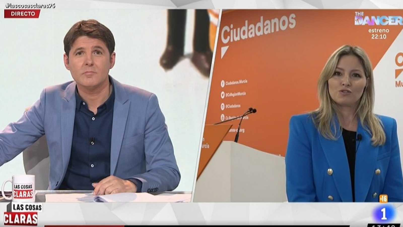 """Martínez Vidal, de Ciudadanos: """"En vista de los acontecimientos, la decisión de formar Gobierno en Murcia con el PP fue errónea"""""""