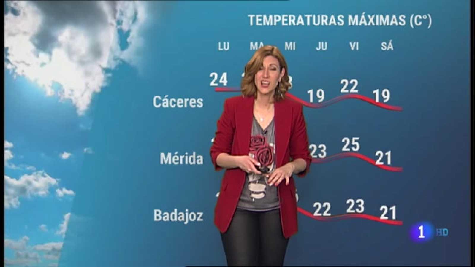 El Tiempo en Extremadura - 05/04/2021