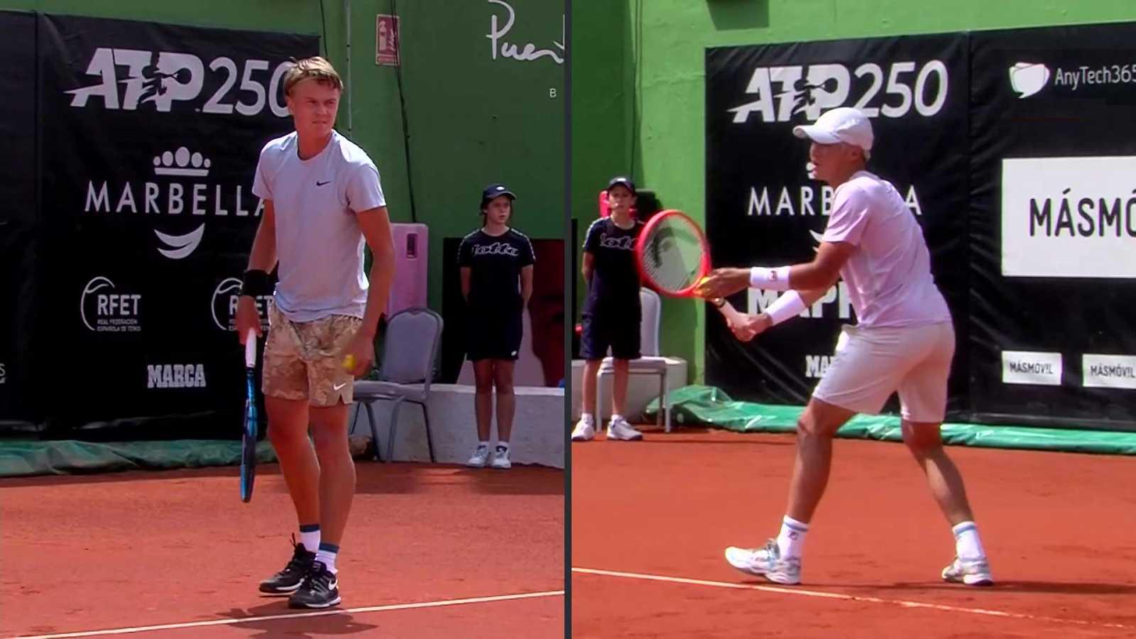 Tenis - ATP 250 Torneo Marbella: H. Rune - S. Kwon - ver ahora