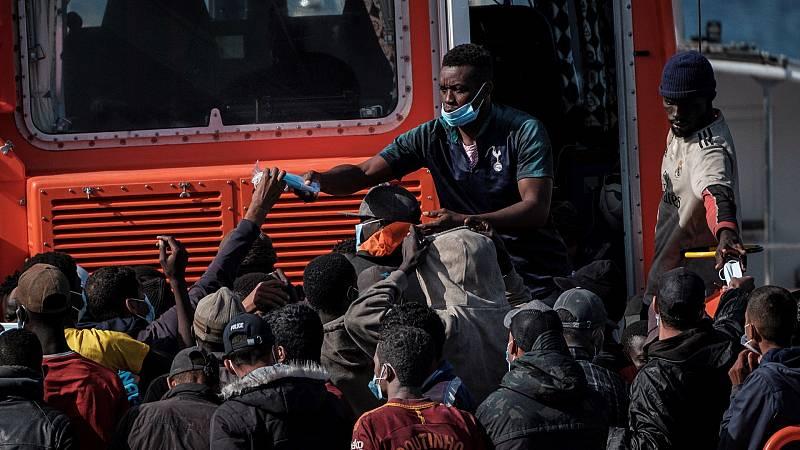 Varios inmigrantes que llegaron a Canarias desean volver a sus países de origen