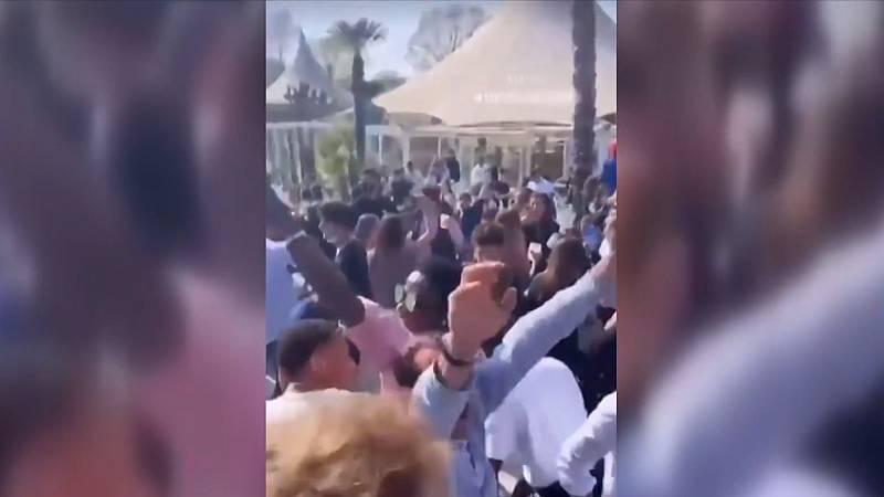 La celebración de fiestas ilegales no cesa