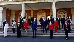 Sánchez estrena foto de familia del Gobierno con Belarra en lugar de Iglesias